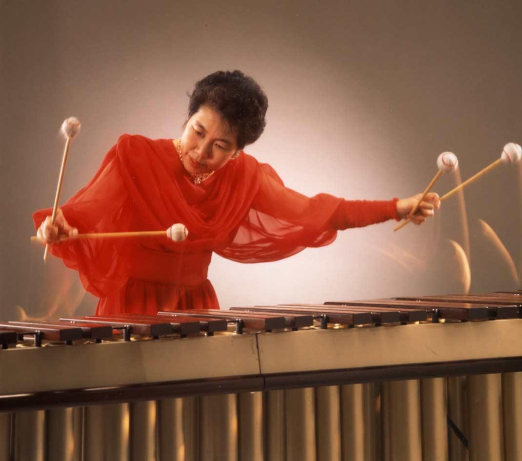 Keiko Abe, composer and marimbist